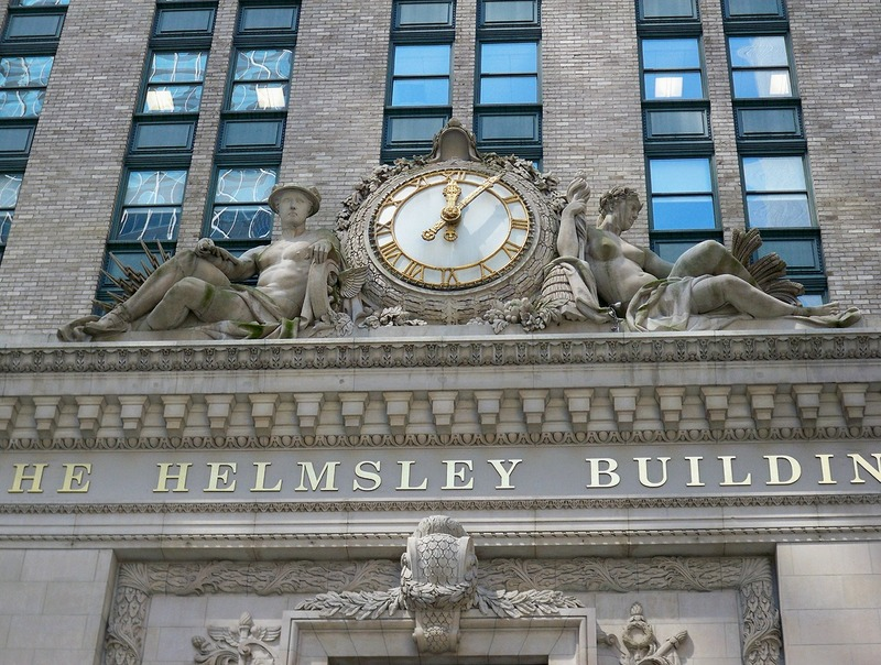 Helmsley Building Clock