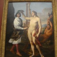 Marcantonio Pasqualini (1614-1691) Crowned by Apollo